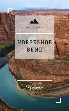 Wild Guide: Horseshoe Bend - A free guide to exploring Horseshoe Bend. Page, Arizona. Grand Canyon Vacation, Utah Vacation, Arizona Road Trip, Arizona Travel, Canada Travel, Travel Usa, Page Arizona, Usa Holidays, Us Road Trip