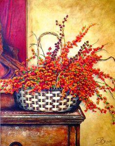 Stella Bruwer | Stella Bruwer | Decorative painting ideas | Pinterest