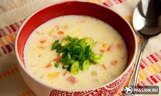 Сырный суп с ветчиной и овощами: пошаговый рецепт с фото и видео