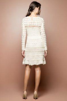 Off Tenerif Crochet Dress - Vanessa Montoro USA - vanessamontorolojausa