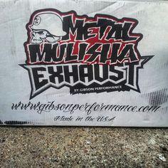 60-0016 Metal mulisha exhaust #speedmaster747 #speedmastertuned 2012 Silverado, Metal Mulisha