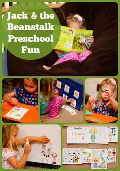 Jack and the Beanstalk Preschool Fun