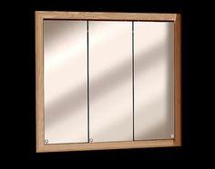 Zenith 24 Oak Tri View Medicine Cabinet 50 Menards 30 Is 74 Bathroom Ideas Pinterest