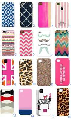 Metropolitan Musings: Technology Thursday: Cute Iphone Cases