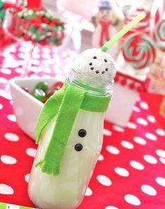 batidos especiales para Navidad, perfectos para una fiesta infantil