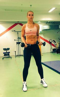 "Sabine Lisicki "" Working hard to be back stronger!""  @nikewomen #letsgetripped  - Nov. 2015"
