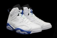 a look at 2 air jordan 6 retros og colorways 03 Sport Blue vs. Infrared: Which Air Jordan 6 Are You Looking Forward To? Air Jordan Vi, Jordan Shoes, Sport Chic, Shoes Outlet, Jordan Retro, Sport Fashion, Blue Shoes, Shoe Game, New Image