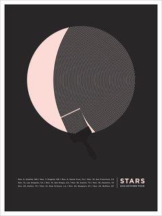 cute stars poster - Jason Munn (trying not to buy!)