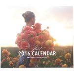 2016 Calendar - Floret Flowers