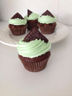 AfterEight Cupcakes – Tine's Verden