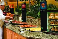 Wake up to a hearty breakfast at Embassy Suites Boca Raton!
