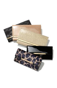 Need this Jimmy Choo clutch in every color.