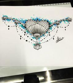 Seashell Body Art Tattoos, Tatoos, Ankle Foot Tattoo, Hawaii Tattoos, Seashell Tattoos, Tattoo Ideas, Tattoo Designs, Sea Shells, Tatting