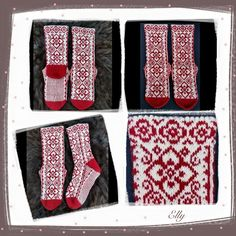 Ravelry: Elly Socks pattern by JennyPenny Knitting Charts, Knitting Socks, Knit Socks, Knitting Ideas, Boot Toppers, Fair Isle Knitting, Diy Crochet, Sock Shoes, Mittens