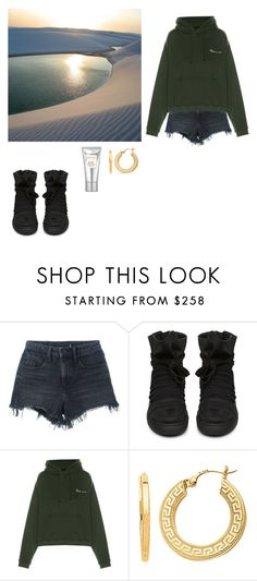 """''"" by whosay ❤ liked on Polyvore featuring Alexander Wang, KRISVANASSCHE, Vetements, BillyTheTree and Laura Mercier"