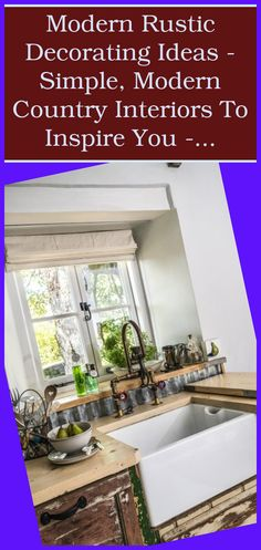 There are several nation kitchen embellishing concepts to help you if you are thinking of remodeling your kitchen area and providing it a more rustic ...