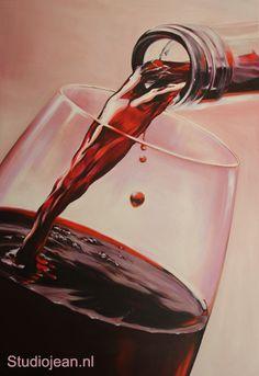 Art Painting, Wine Photography, Flower Art, Still Life, Still Life Art, Oil Painting, Art, Color Pencil Art, Wine Painting