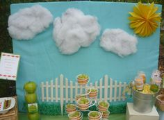 Great sunshine backdrop! #summer #backdrop #party
