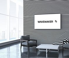 New Logo and Identity for MEC Wavemaker by Lambie-Nairn