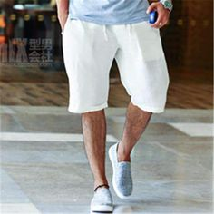 MY MALL METRO Casual Mans Linen Shorts Handsomemensquick Drying Beach Shorts Solid Plus Size M 2Xl Popular New  $33.23 #designer #purse #pants #Womens #clothes #fashionblog #streetfashion #wardrobe #hoodie #sales #followforfollow #style #mymallmetr #blackfriday #cybermonday