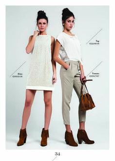 SABBADO Summer 2016, Capri Pants, Fashion, Capri Trousers, Moda, Fashion Styles, Fashion Illustrations
