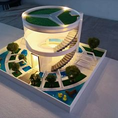 You know who needs a luxury home? A hamster, definitely — if for no other reason than the cuteness factor. The designers at South Korean ZIT Studio are way ahead of us. Amazing Architecture, Architecture Design, Luxury Cars, Luxury Homes, Custom Dog Houses, Hamster House, Luxury Kitchen Design, Luxury Villa, The Incredibles