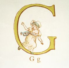 Initial G, by Kate Greenaway