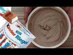 Tortencreme mit Kinderriegel einfacheTortencreme Schoko mit Sahne selber machen Anleitung - YouTube