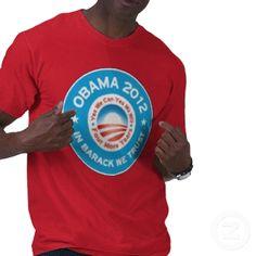 Obama 2012 - In Barack We Trust Tshirts