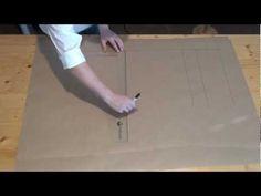 Schnittmuster vergrößern (verkleinern) - YouTube