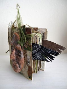 Green Man (handmade book)