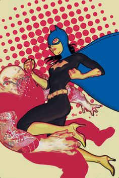Batgirl comic cover art created by artist James Jean.