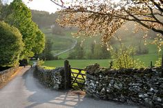 Near Winster in the Lake District, England