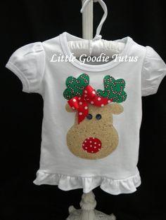 Girls Christmas Shirt 5/15/13