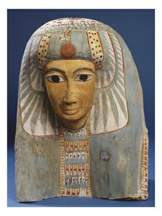 Mask of a Woman with Lotus Headdress
