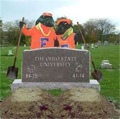 I just had to re-pin this, because we just beat Ohio State in the GATOR BOWL! GO GATORS!!