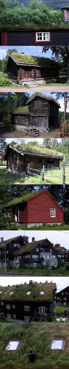 ARCHITECTURE >>> Toits verts norvégiens - Journal du Design