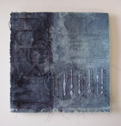 Stitch on dyed and painted cloth - Consuelo Simpson, Festival of Crafts 2012…