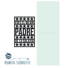 """Archivo .studio """"El mejor padre de la galaxia""""  #PlanetaSilhouette"""