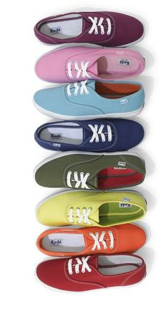 Keds are totally on my wish list.  I love all of the bright colors.  Great alternative to chunky athletic tennis shoes.