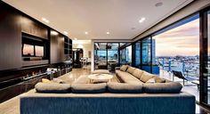 Penthouse in Melbourne, Australia. I'll take it!