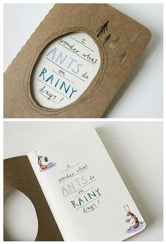Haruki Murakami inspired journal by Heidi Burton / Making Strangers, via Flickr