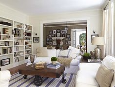 Home Town   HGTV   Living Room by Ben and Erin Napier