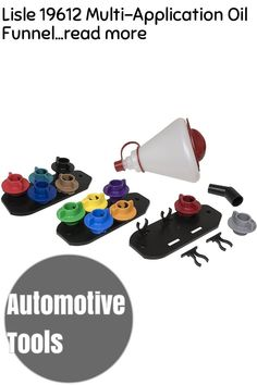 (This is an affiliate pin) Lisle 19612 Multi-Application Oil Funnel Automotive Tools, App, Reading, Apps, Reading Books