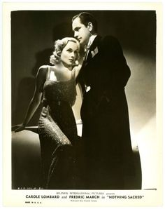 Nothing Sacred (1937), Carole Lombard, Fredric March