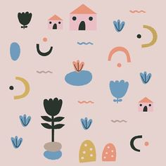 New things coming up #pattern / www.littleotja.com