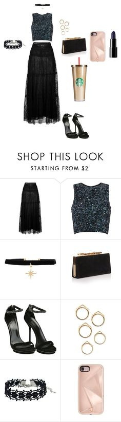 """""""set"""" by hermine-fragonn ❤ liked on Polyvore featuring Valentino, Natalie B, Jimmy Choo, Gucci and Rebecca Minkoff"""