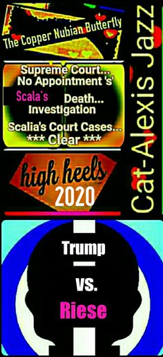 Democratic Presidential Nomination Elect... 2020 - 2028 Music Is The Door... Sing - Cat-Alexis Jazz; 'The Copper Nubian Butterfly' aka: Kathleen Riese