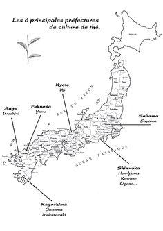 Les préfectures de Thé au Japon (379×536)