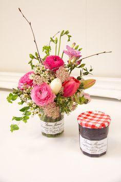 New Life Vase - Bonne Maman Jam Jar